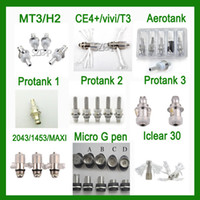 Wholesale All Heating Wire Atomizer Coils for Aerotank Protank MT3 H2 Micro G pen Atomzier Cartomizer Coil
