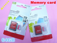 Wholesale NEW packaging GB C10 TF Memory Cards with Free SD Adapter GB Class Micro SD Card Free Blister Packaging Free DHL