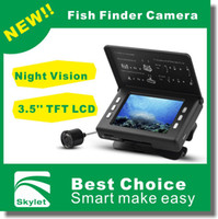 Wholesale high clarity Night Vision Fish Finder Camera Kit Underwater fishing Camera with LCD System with retail box