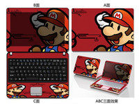 Wholesale free shinpping1011121314 inch inch laptop case foil stickers Colorful computer outer membrane protective film color film