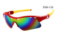 venda por atacado sunglasses in china-FREE CHINA POST AIR Shipping Óculos de sol dos homens Branco Frame Grey Com Holes Acrílico Lens Classic Sunglass Marca Ciclismo Sport Óculos de sol