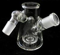 broken glass - new glass bong glass ash catch with percolator mm water pipe break