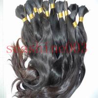 Wholesale Factory Whole Sale A GRADE Brazilian Human Virgin Hair Unprocessed Remy Hair Bulk Kg quot quot