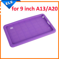 Cheap Multi-Color Protective Back Cover Silicone Case For Universal 9 Inch Allwinner A13 A20 Android Tablet PC