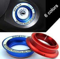 Wholesale For ford focus luminous aluminium alloy ignition key ring cover decoration stickers for focus