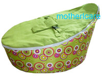 baby bubble chair - Portable Baby Bean Bag Seat New Kids Toddler NEW green bubbles Beanbag Chair Bed Deluxe Authentic amp Original Dual Top