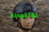 Wholesale Men Army Military Equipment Airsoft Paintball Climbing Protective Combat EMERSON Tactical Fast Helmet MH Type TYPHON