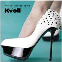 Wholesale HOT Woman s Kvoll Nightclub sexy high heels High heels Single shoes uAQ33