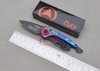 Cheap FURY - 327 Camping Hunting Poket Knife Utility Knife Blue Red Black Color Best Gift