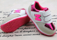 kids shoes N letters sequins children leisure sports shoes b...