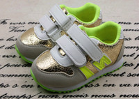 New boy and girl Fashion children's shoes N letters children...