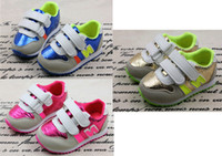 New boy and girl South Korean children's shoes N letters chi...