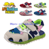 New boy and girl Fashion children's Sandals shoes N letters ...