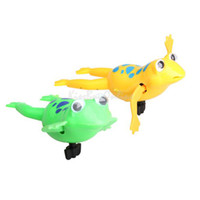 Cheap Swimming Frog Battery Operated Pool Bath Cute Toy Wind-Up Swim Frogs Kids Toy K5