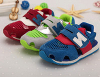 South Korea Fashion children's Sandals shoes N letters child...