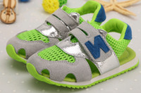 Free shipping Fashion children's Sandals shoes N letters chi...