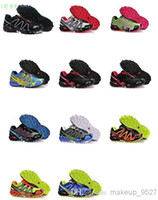 2014 Hot Salomon Speedcross 3 Men and Women Athletic Running...