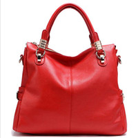 Wholesale Women genuine cow leather bags Restore leather bag Leather Briefcase Handbags strap Totes fashion women handbag hand bags handbags