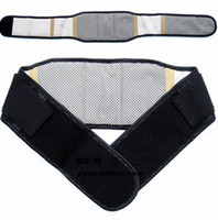 Cheap Single black tourmaline from the heat supply from the heat yellow sided waist waist protection belt wholesale