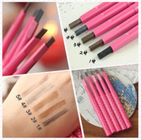 Wholesale automatic eyebrow pencil makeup style paint for eyebrows brushes cosmetics brow eye liner tools brow pencil