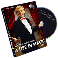 Wholesale A Life In Magic Volume by Wayne Dobson magic teaching video send via email stage magic card magic
