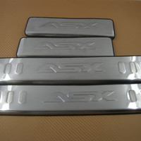 Wholesale Door Sill Plate Scuff Trim Stainless Fit ASX