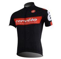 jacket team - cycling rain jacket cervelo team cycling jerseys hot sale black color short sleeve mountain road clothing mens bike wear size xs xl