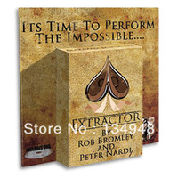 Wholesale Extractor by Rob Bromley amp Peter Nardi magic teaching video send via email Card magic Teach you how to make this Gimmick