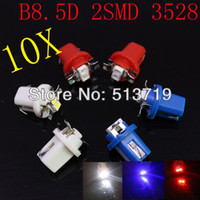 Wholesale X v auto truck T5 B8 D SMD led bulb console light bulb instrument tray lamp speed table