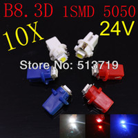 Wholesale X v auto truck T5 B8 D led bulb console light bulb instrument tray lamp speed table