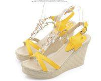2014 Summer Fashion high- heeled sandal Women Sandals Metal c...
