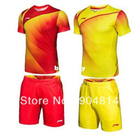 badminton basics - New Li Ning Badminton men s the Chinese national badminton team shirt shorts