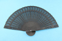 Wholesale Wedding Fans Wooden Fans Handmade Chinese Solid Color Sandalwood Ladies Hand Fans Advertising and Promotional Gifts Bridal Accessories
