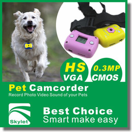 Wholesale 1 Mp P Lovely Pet Sport camcorder camera with retail box
