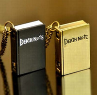 Wholesale 2016 New Vine Quartz Pocket Watch Death Note Pendant Steampunk For Men Women Best Gift Leisure Necklace Fashion Retro Watch