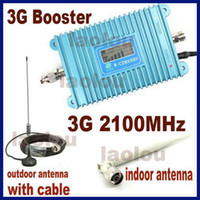 Wholesale Direct Marketing Mobile Phone Signal Booster Amplifier G w CDMA MHz LED Display g Repeater with parts sets