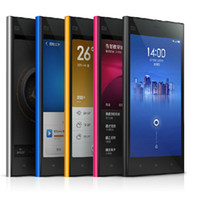 Xiaomi 5.0 Android Cheapest Xiaomi M3 Mi3 phone 3G WCDMA MTK6589T quad core 2GB 64GB RAM 5'' 1920*1080px 13mpx 3G NF international xiaomi Mi3 Multi-language