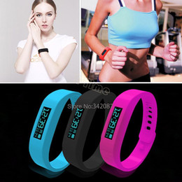 Wholesale 3 Color Smart Sports Bracelet original Fitbit flex health records pedometer step counter wireless sleep bracelet B2 SV003653