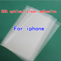 Universal   DHL OCA Optical Clear Adhesive Glue Sticker For Samsung Galaxy S5 S3 S4 note 3 2 iphone 5 5s 5C iphone 4 4G 4s LCD Touch Screen Outer Glass