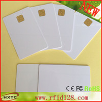 Wholesale ISO14443 AT24C01 Chip Contact Blank Smart Card with K Memory