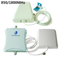 Wholesale db High Gain MHz G WCDMA Mobile Signal Booster CDMA Amplifier use Cell Phone Repeater