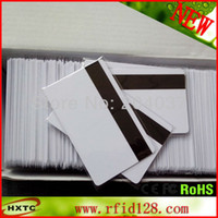 Wholesale 10 PVC OE Hi Co Magnetic Stripe Blank Card with Tracks Printable By Zebra Printer For POS System