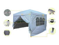 Wholesale Waterproof x10 EZ Pop Up Party Tent Canopy Gazebo Silver Free Carry Bag to United States
