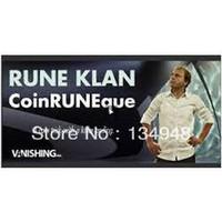 rune - Rune Klan CoinRUNEque Vanishing Inc only magic teaching video send via email Coin magic