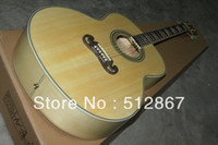 Wholesale New G SJ200 Acoustic Guitar new style naturally very good left handed instrument