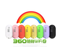Cheap whosale 360 Mini Wifi Portable Router USB 2.0 360Portable WiFi Adapter luxury 2014 new free shipping