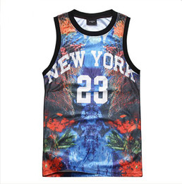 Wholesale Men s Cotton Vest New York Printing Tank Top D Letter Sleeveless T shirt Tops M L XL