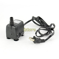Wholesale 160 GPH Submersible Pump Aquarium Fish Tank Powerhead Fountain Water Hydroponic V W Silence Working TK1061