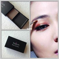Cheap Wholesale-2014 free shipping new arrival two-color eyebrow coffee black nude makeup make-up eyebrow brush durable variegating natural