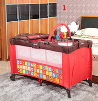 baby bedding safety - new baby Deluxe Baby bed folding bed baby bed baby safety bed TC